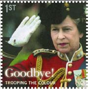 queen no longer on stamps