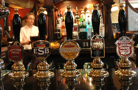 UK Fullers Pub