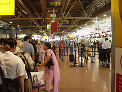 queue at Heathrow