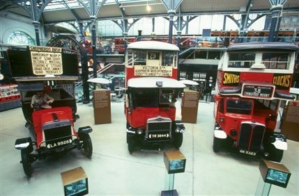 London Transport Museum: A Walk through London's Transport Heritage