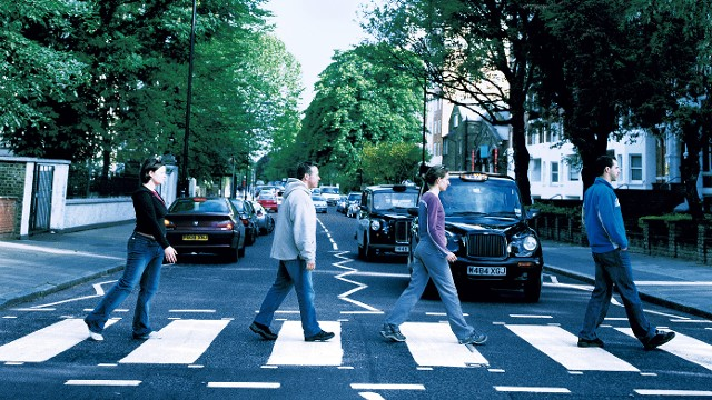Abbey Road: Then and Now